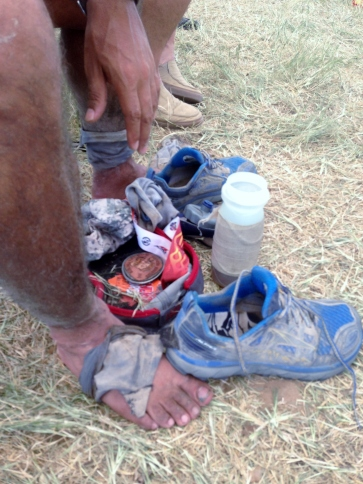 Trail running is a dirty business!